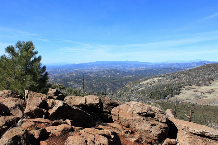 Hiking Cuyamaca Peak Trail