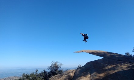 Mount Woodson (Potato Chip Rock) via Lake Poway Hike