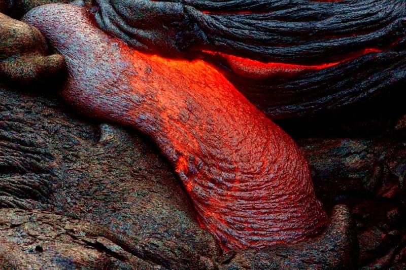 Hawaii Volcanoes National Park, Kilauea Lava Flow, 61g Lava Flow, Lava Photography