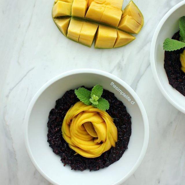 Ya viste la receta de mi increble Mango Sticky Rice?hellip