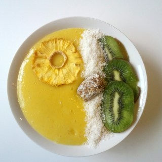 Smoothie Bowl de Mango.