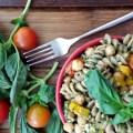 Pasta Tibia con Pesto y Verduras Asadas 10