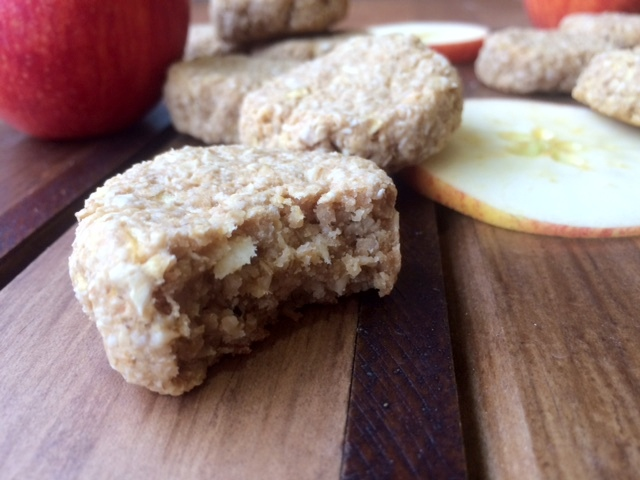 Galletas de Manzana, Avena, y Mantequilla de Maní 3