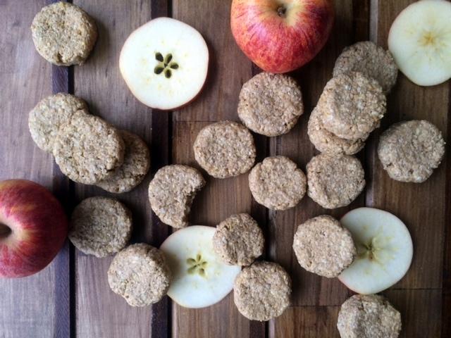 Galletas de Manzana, Avena, y Mantequilla de Maní 4