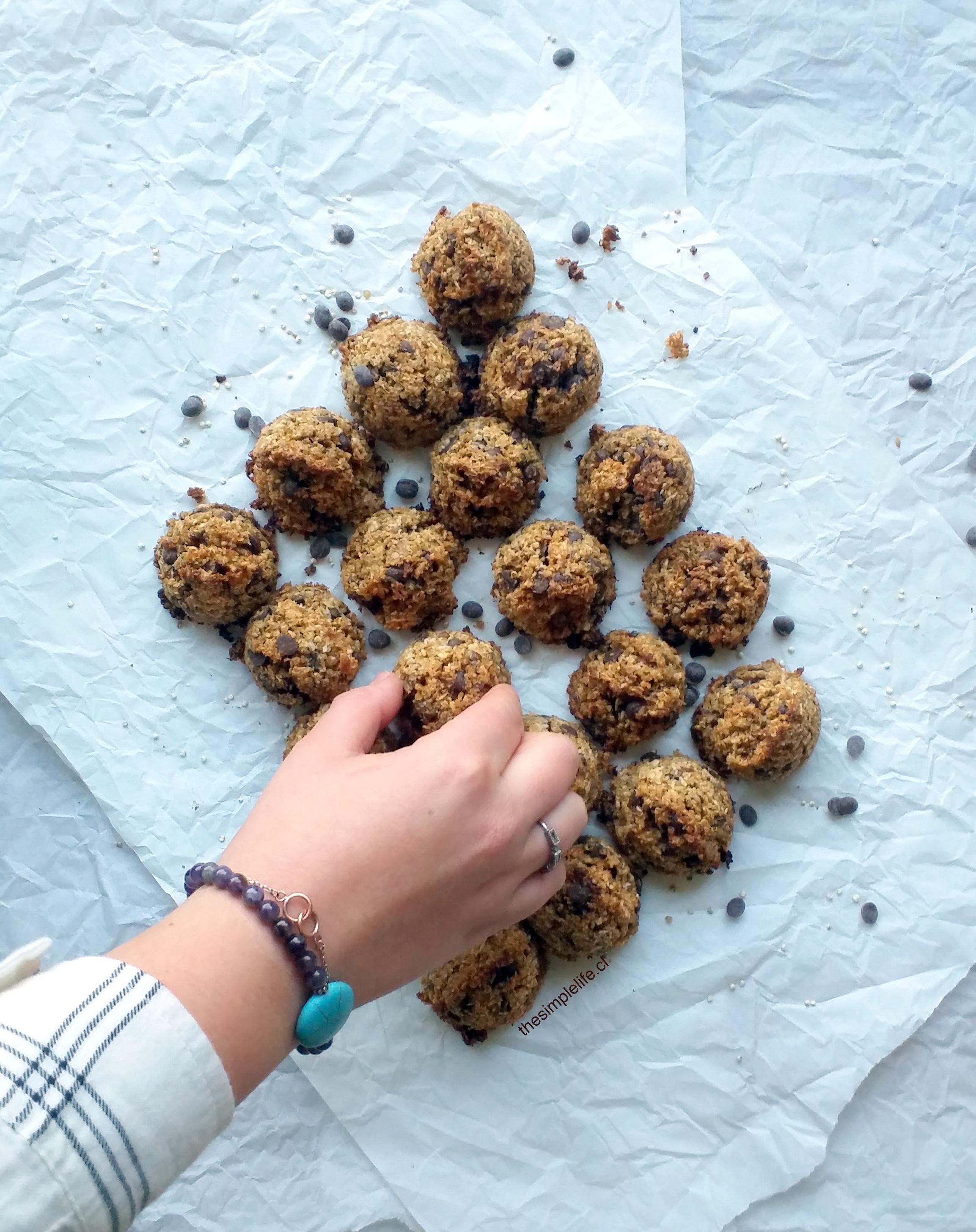 Las Mejores Galletas de Quinoa con Chips de Chocolate 8
