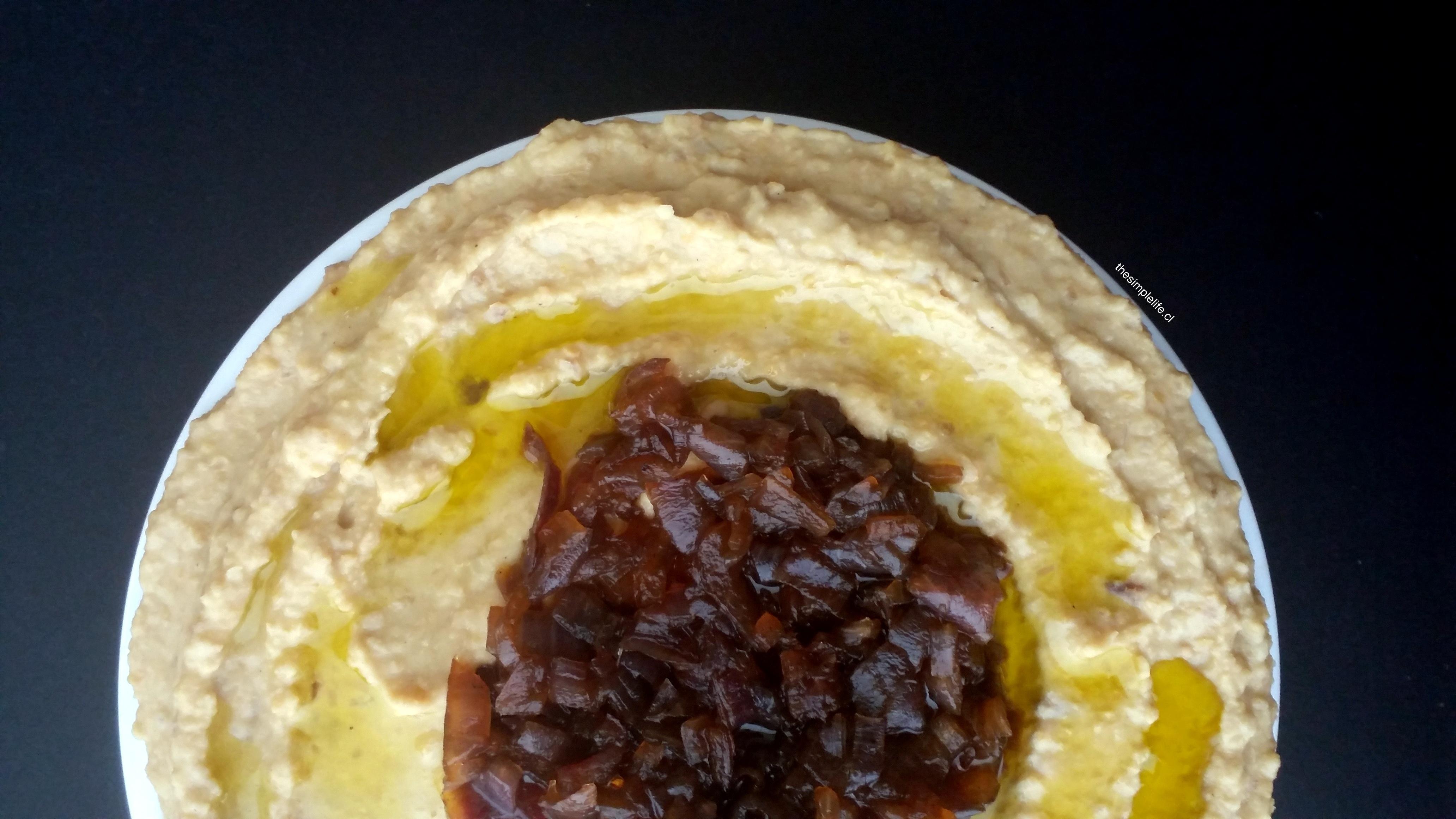Hummus de Cebolla Caramelizada 6