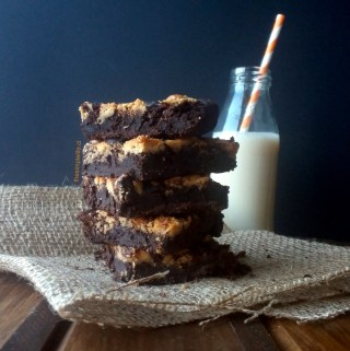 Brownies de Porotos Negros.