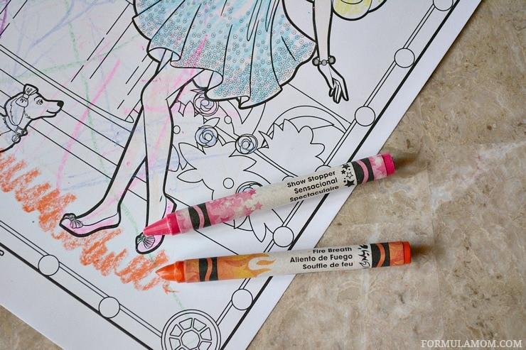 experiencing crayola color alive ad coloralive