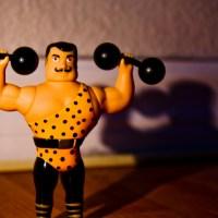 Men are stronger
