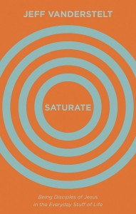 Saturate book cover