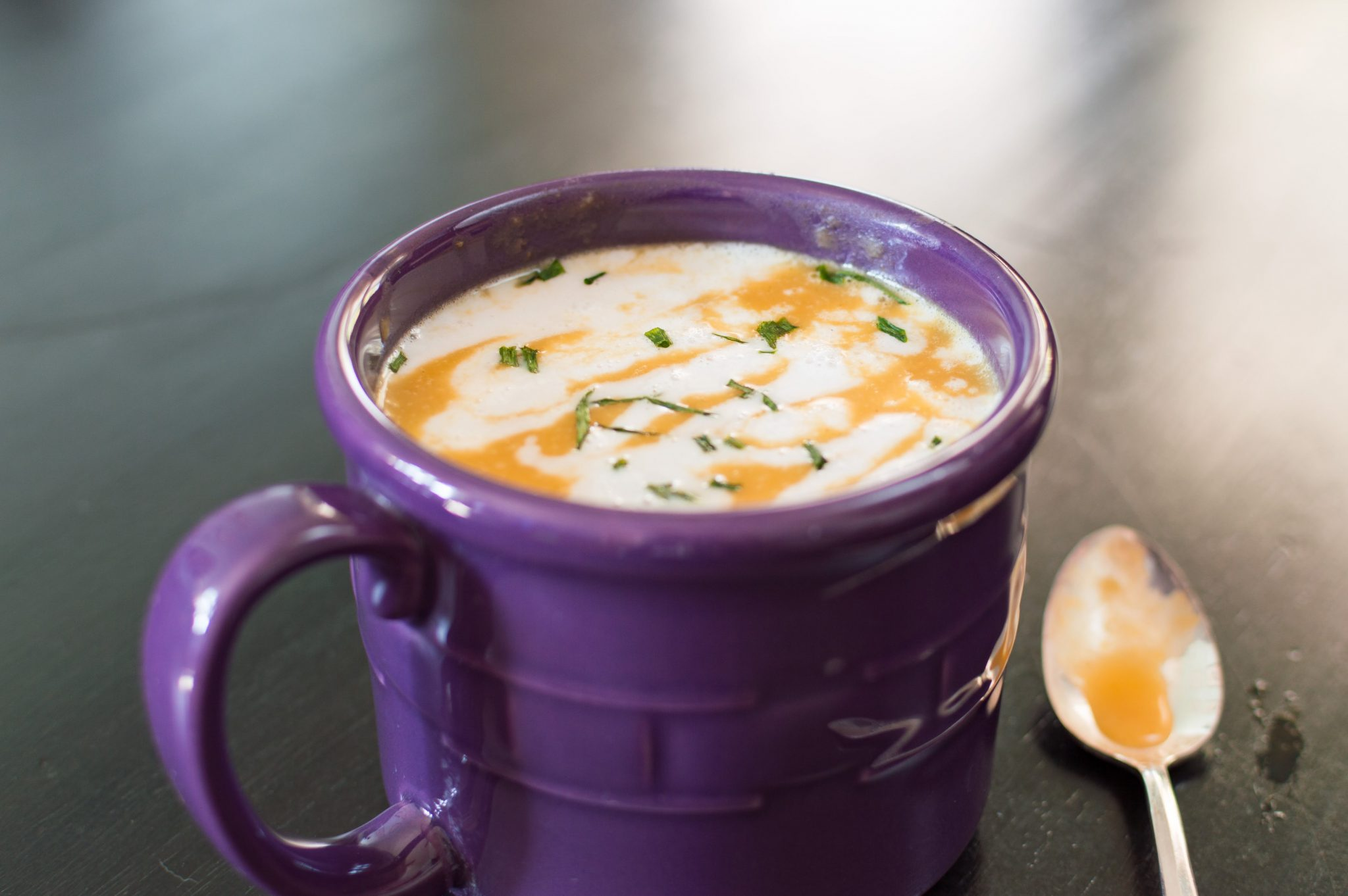 Butternut Squash Soup with a Twist