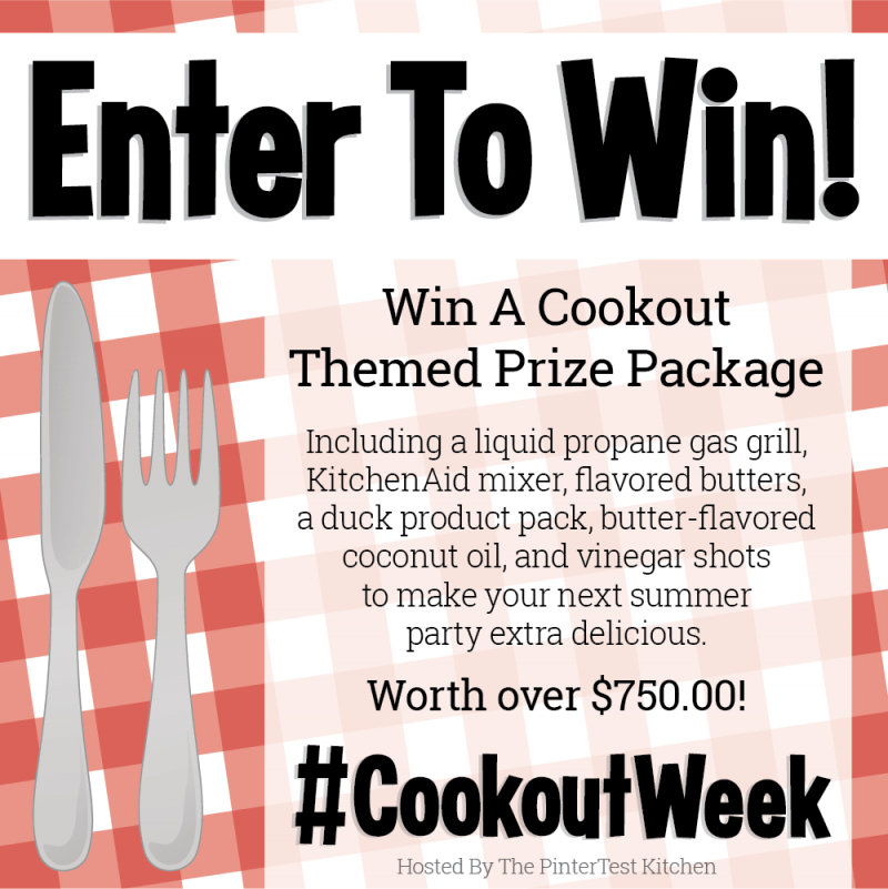 Cookout Week 2018   Giveaway, Recipes, and More!