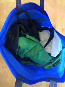 Figure 1: Reusable shopping bags.