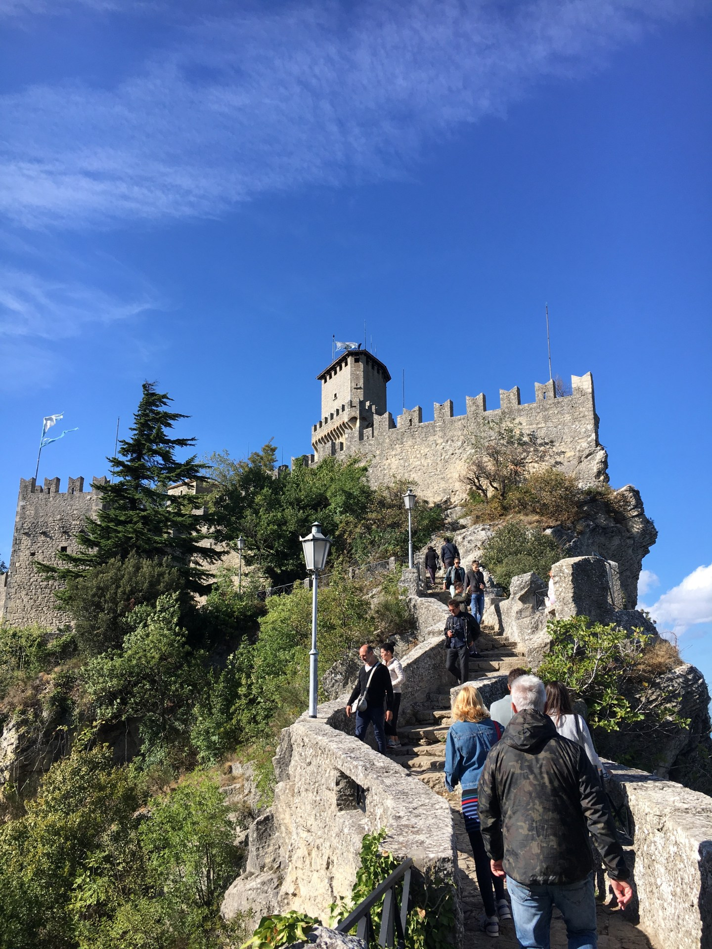 A postcard from my hometown, the Republic of San Marino
