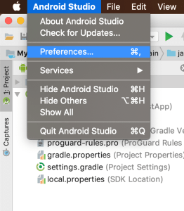 android studio update kotlin version