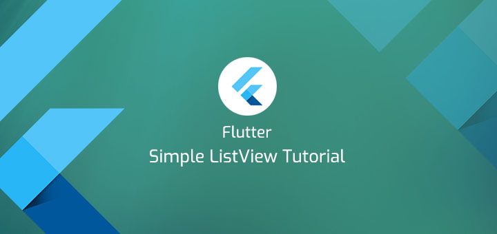 Flutter Simple ListView Tutorial - theSimplyCoder