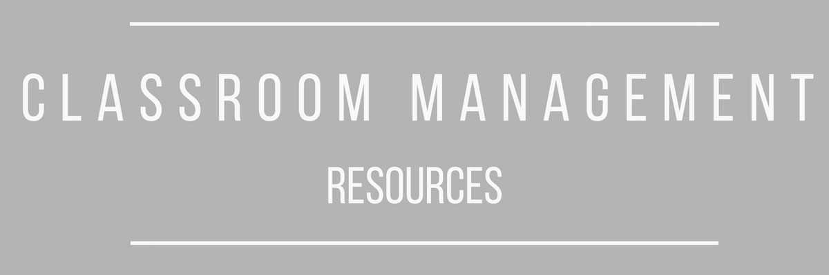 classroom-management-resources
