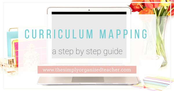Curriculum Mapping in 6 easy steps. This step by step curriculum mapping guide and video will help teachers lesson plan.
