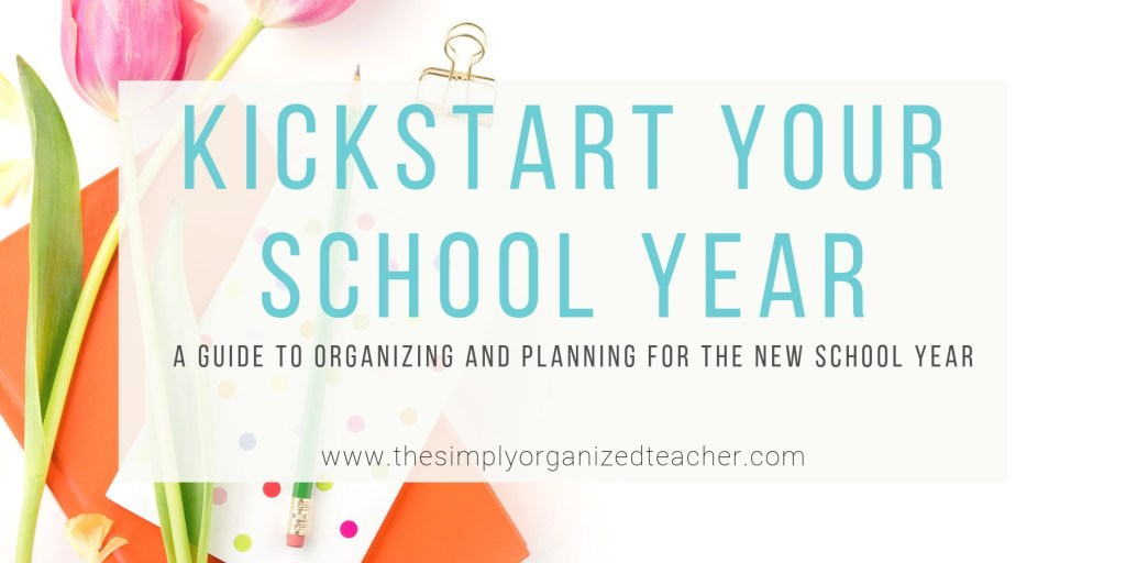 A teachers guide to organizing and planning for the new school year. This course is ideal for new teachers looking for guidance on starting a new school year or teachers who want to streamline their beginning of year processes.