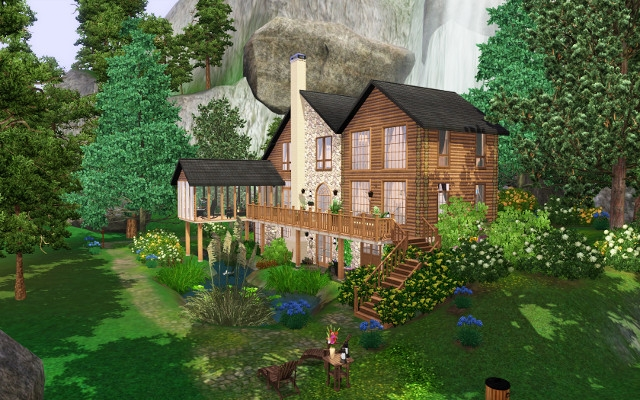 Cozy Chalet The Sims 3 Catalog