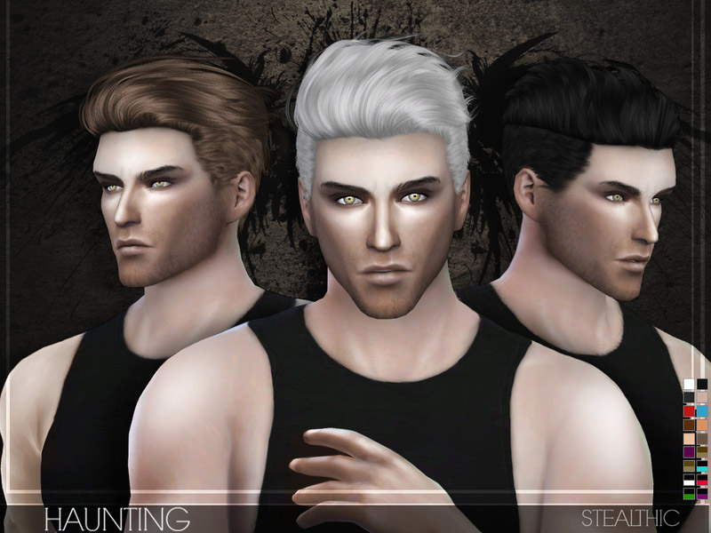 stealthic - haunting male hair