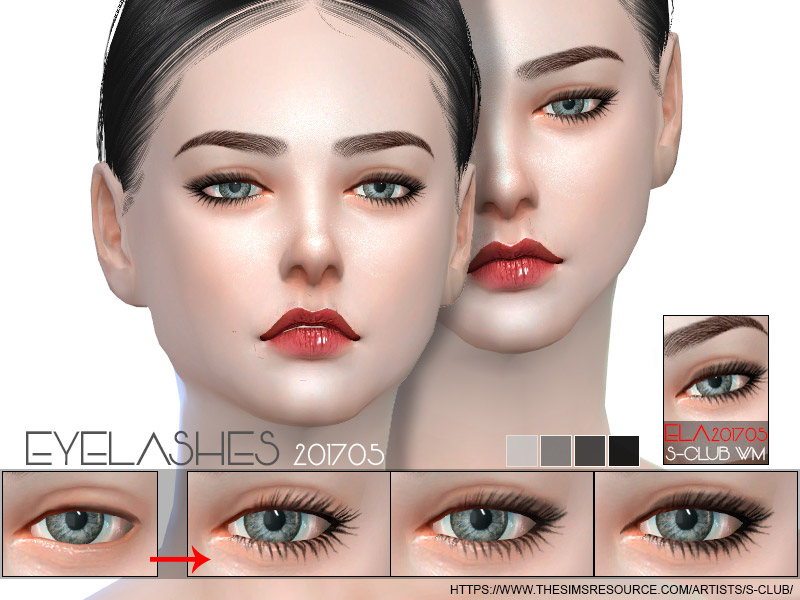 f843ad9af1d S-Club WM ts4 eyelashes 201705 - The Sims 4 Catalog
