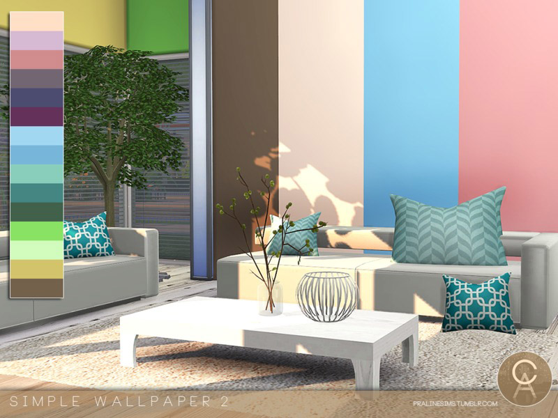 Simple Wallpaper 2 - The Sims 4 Catalog