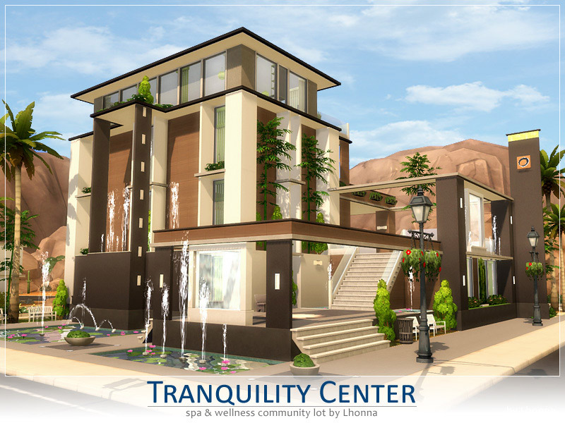 Tranquility Center - The Sims 4 Catalog