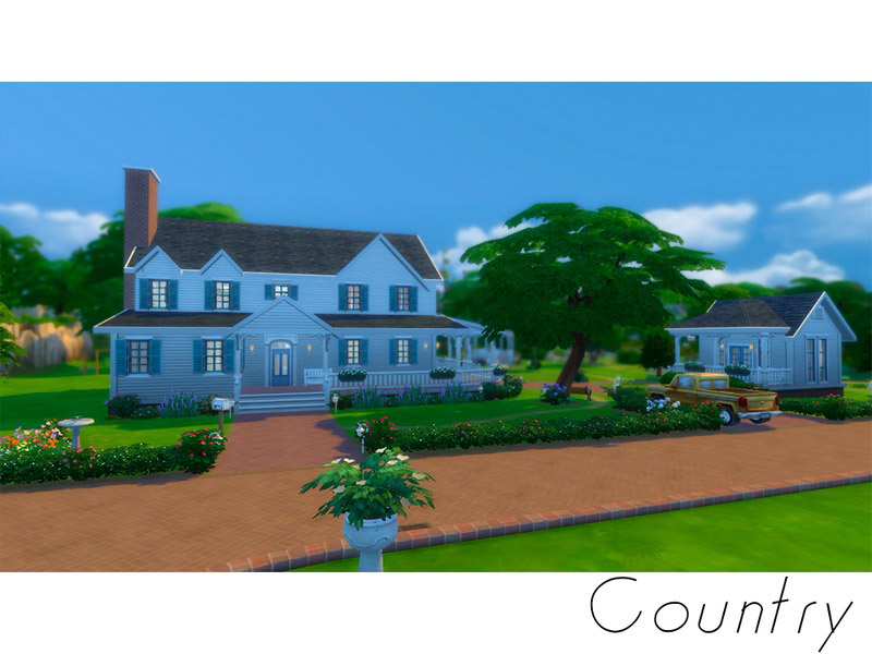 Country - Family house - The Sims 4 Catalog