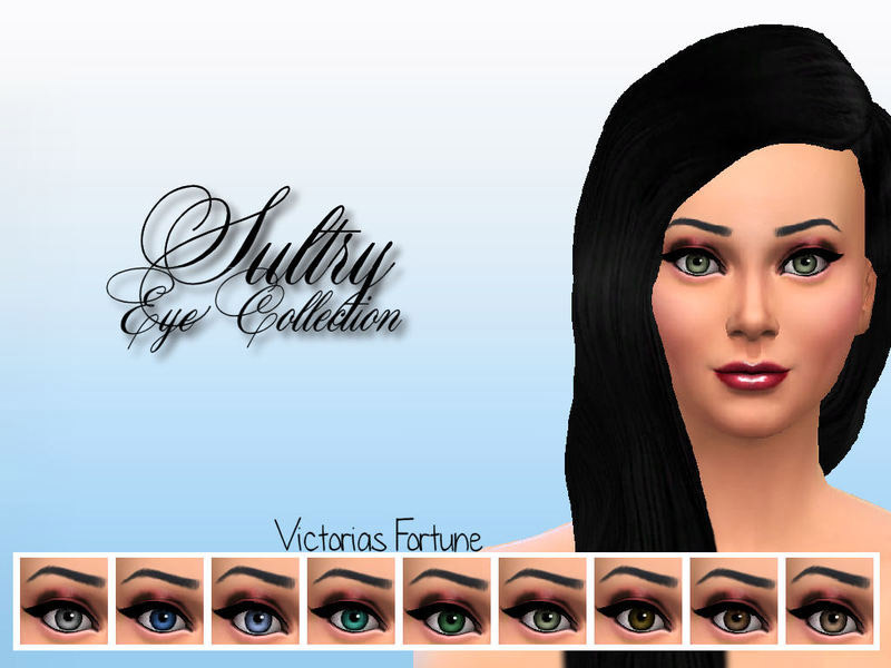 Victorias Fortune Sultry Eye Collection - The Sims 4 Catalog