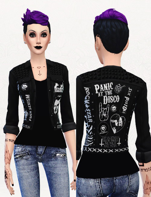 Punk girl dating sim