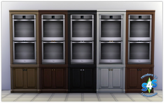 Built-In Ovens and Counter Stove Tops - The Sims 4 Catalog