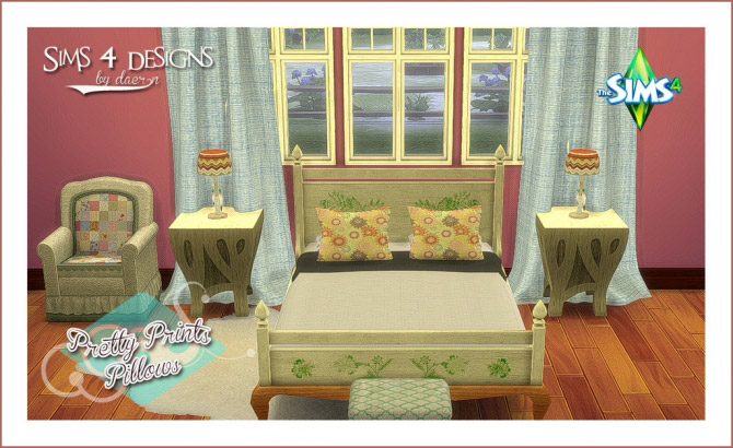 Ts2 to Ts4 Ama's Bed With Canopy - The Sims 4 Catalog