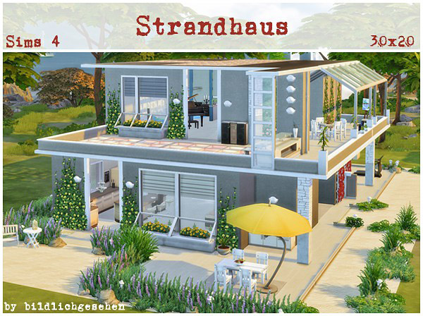 Beach House The Sims 4 Catalog