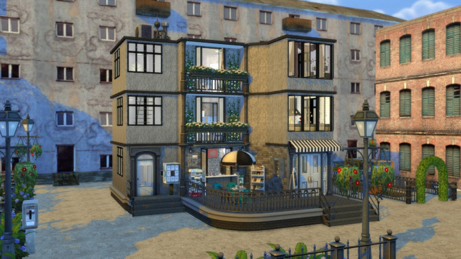 sims 4 coffee shop download