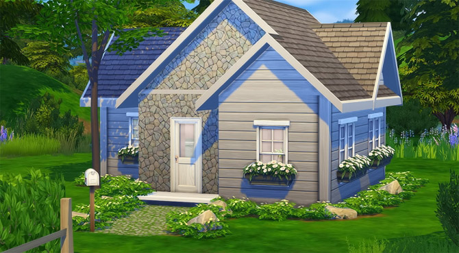 Meisiu's Base Game Starter Home Challenge - The Sims 4 Catalog