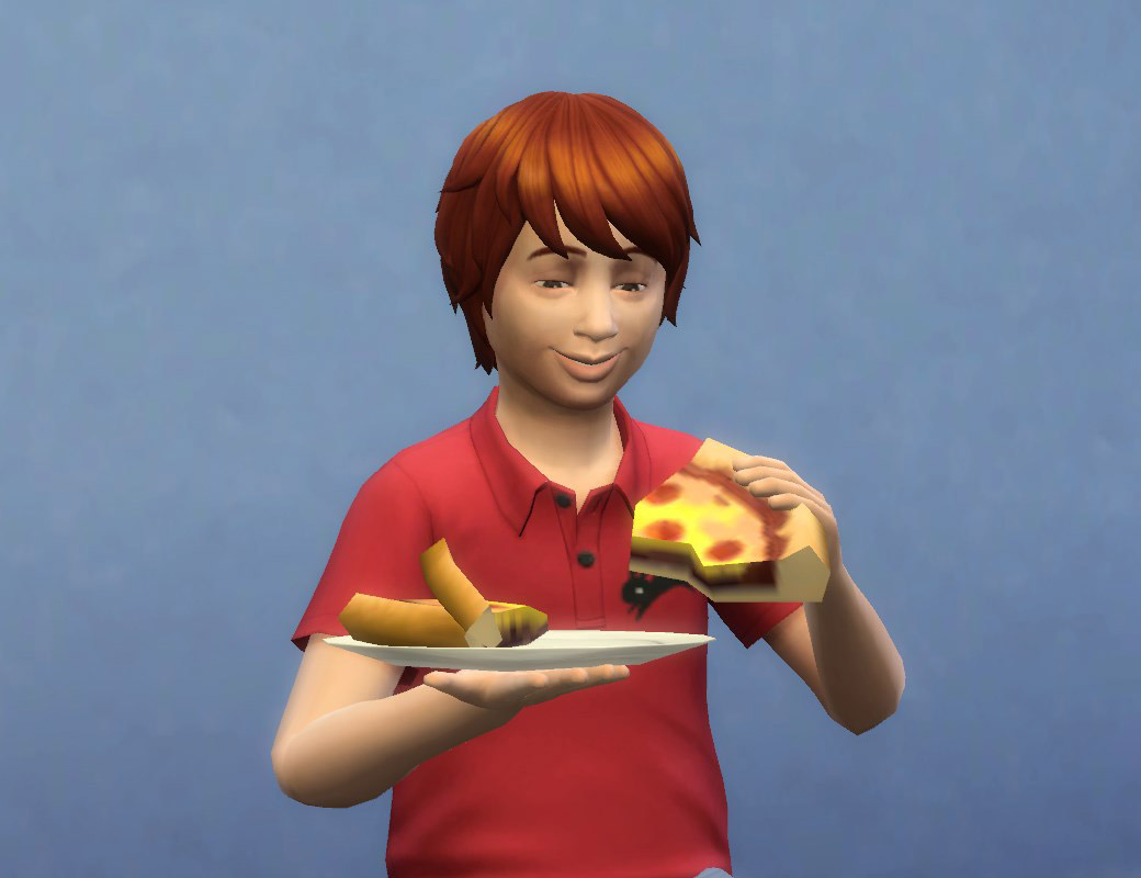 Microwave Pizza - The Sims 4 Catalog