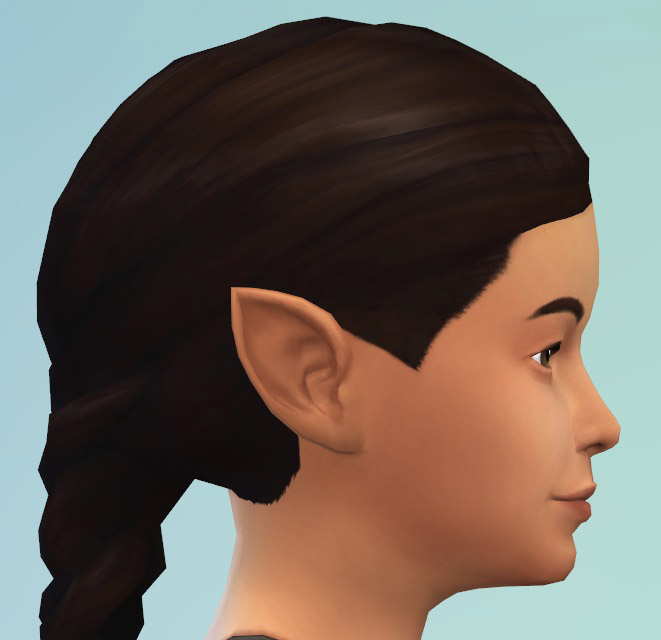 Pointed Ears As Cas Sliders The Sims 4 Catalog