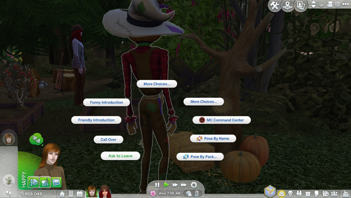 Patchy The Scarecrow Behaviour The Sims 4 Catalog
