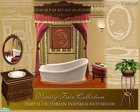 Cashcraft's Vanity Fair Bathroom