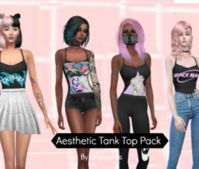 Aesthetic Tank Top Pack