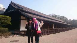 Last day in Tokyo, bumped into another solo traveler from Indonesia . Photo taken at Tokyo Imperial Palace.