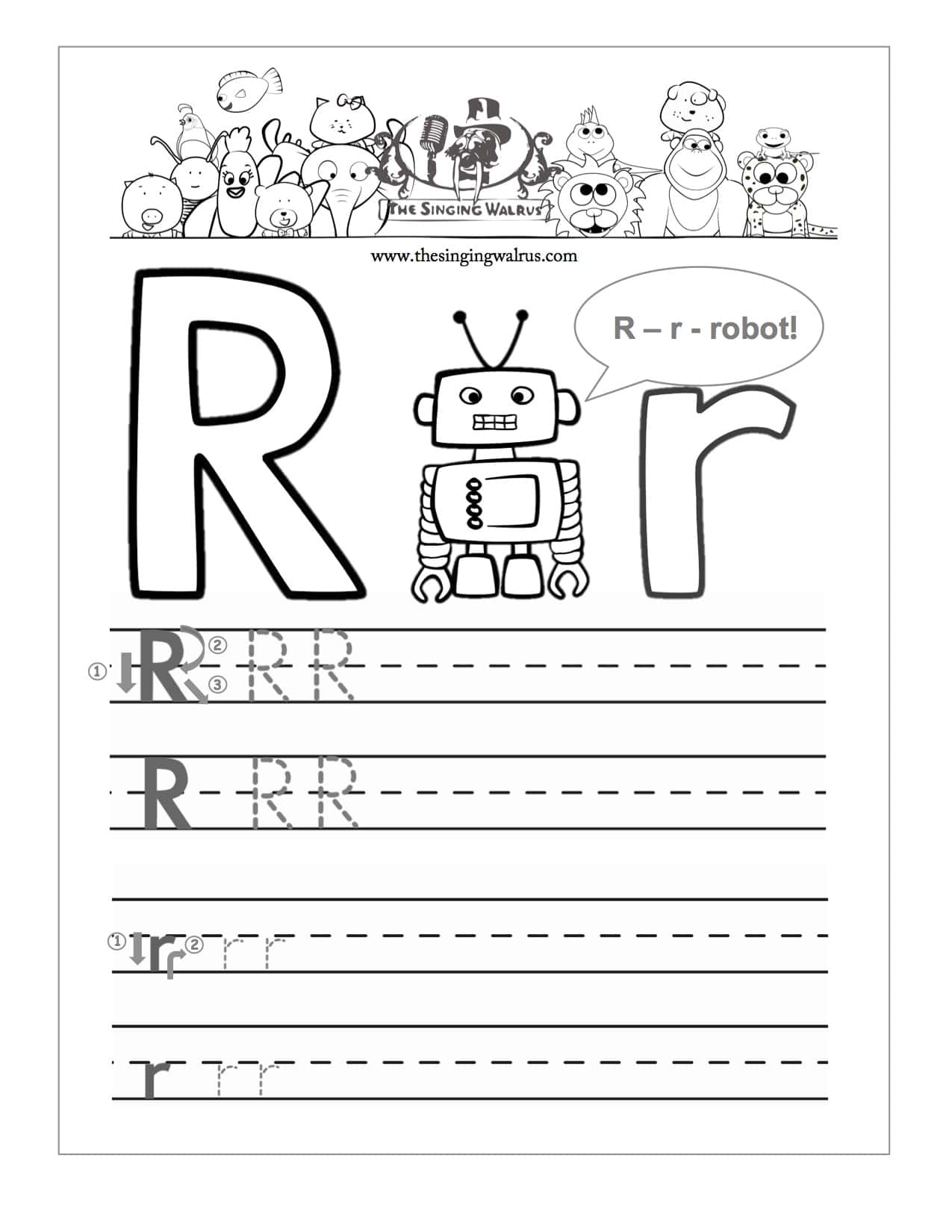 Walrus Worksheet Preschool