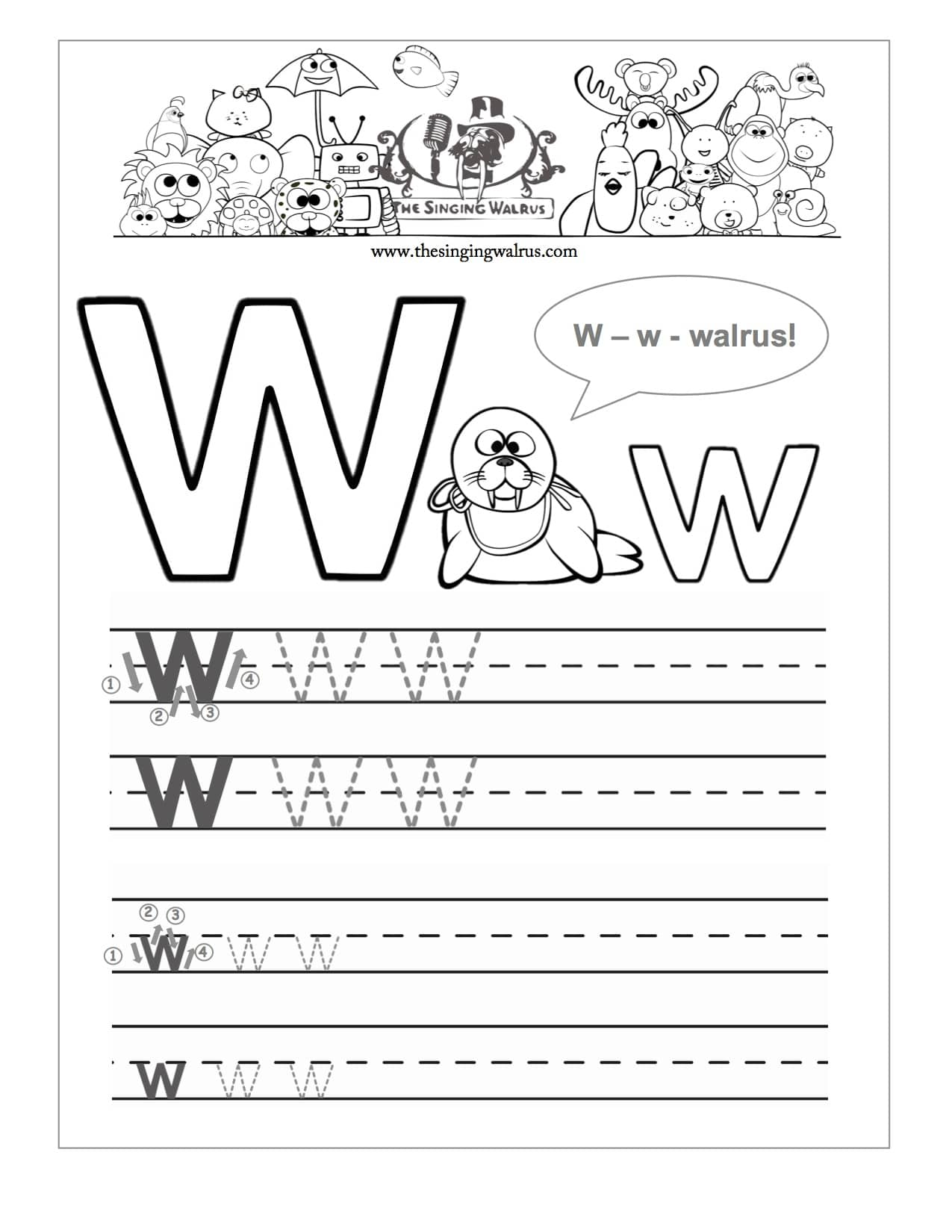 Alphabet Homework Sheets