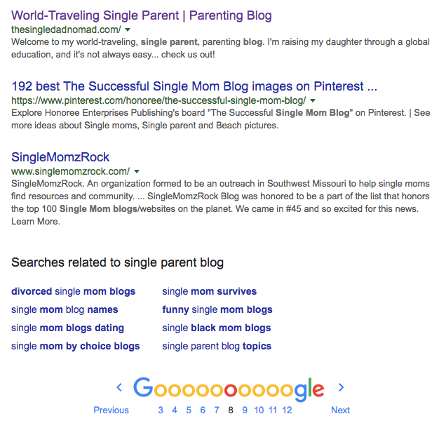 single parent blog single parent blogger