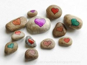 Valentine's Day Love Rocks