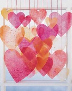 Martha Stewart Crayon Hearts