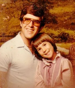 Father's Day - The Single Mom Blog - Me and Dad