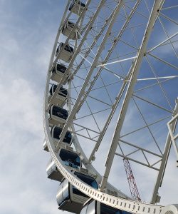 Sky Wheel at Myrtle Beach South Carolina, Summer vacation and seizures