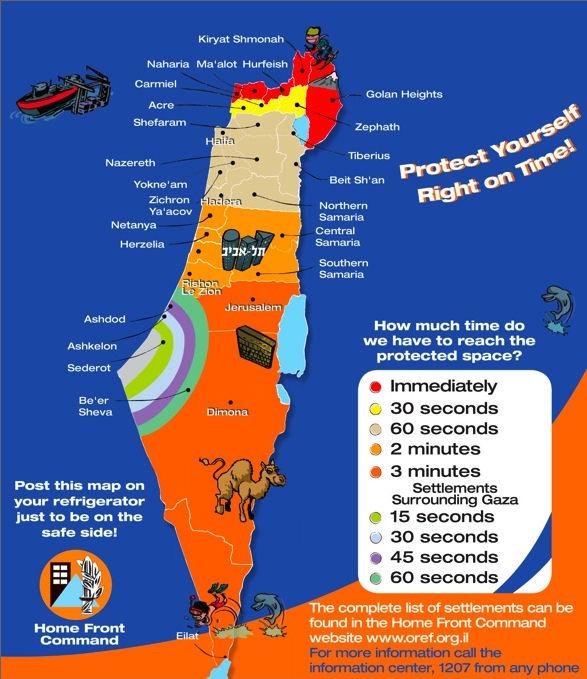 On every fridge in Israel